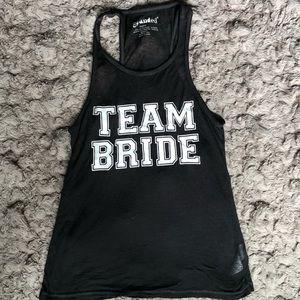 TEAM BRIDE  <div class=